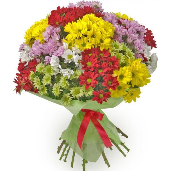 Букеты с хризантемой