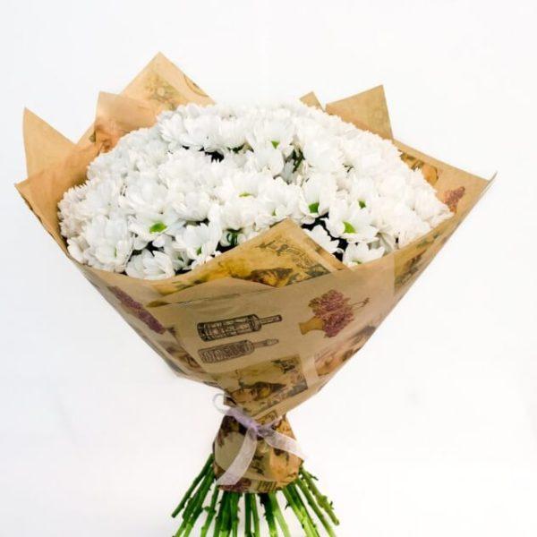 Букет с хризантемой.