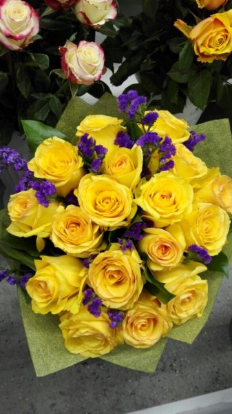 «Желтые розы».