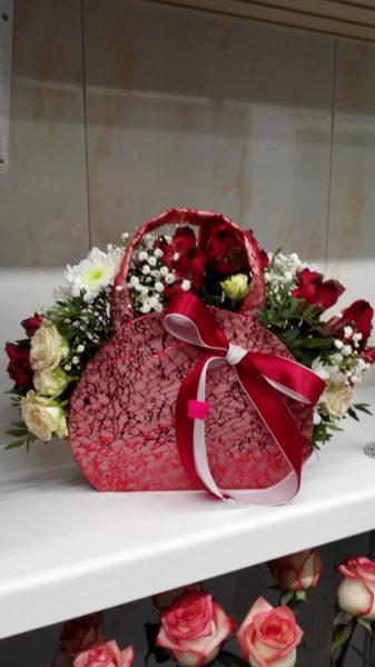 Красная сумочка.