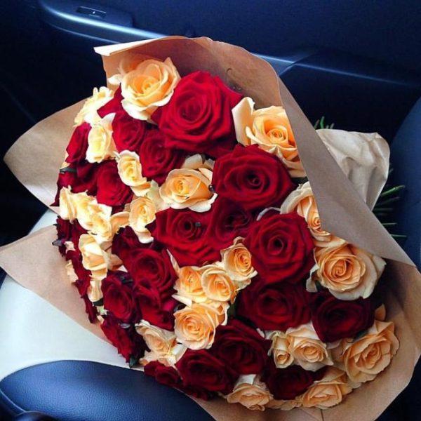 Букеты из 51 розы