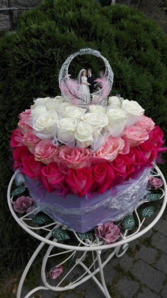 Коробка «Торт» 51 роза